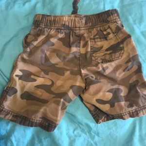 Carter's Bottoms - Carter's camouflage shorts